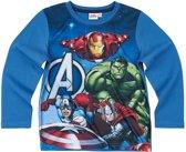 Avengers-Assemble-T-shirt-met-lange-mouw-blauw-maat-152