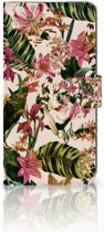 Sony Xperia XZ3 Bookcase Flowers