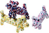 Flamingo Hondenspeelgoed John Puppy - Blauw
