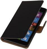 Microsoft Microsoft Lumia 535 Zwart | bookstyle / book case/ wallet case Hoes  | WN™