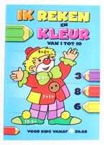 Flash Ik Reken En Kleur: Van 1 Tot 10 Junior Blauw