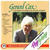 Gerard Cox - 't Is Weer Voorbij Die Mooie Zomer - Originele Jaren '70 versies!