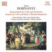 Dohnanyi: Cello Works