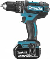Makita DHP482RTJ Accu Klop-/Schroefboormachine 18V 5.0Ah Li-ion in Mbox