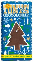 Tony's Chocolonely Kerstreep Puur Candy Cane - 15 x 180 gram