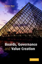 Boards, Governance and Value Creation