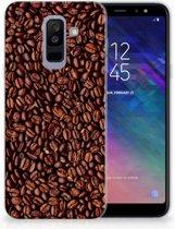 Samsung Galaxy A6 Plus (2018) TPU Siliconen Hoesje Koffiebonen