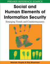 Social and Human Elements of Information Security