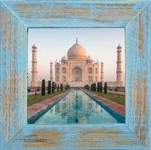 Henzo India Fotolijst - Fotomaat 30x30 cm Blauw