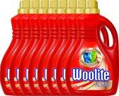 Woolite Kleuren - 8 x 1,38 L - Wasmiddel - Voordeelverpakking