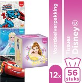 Kleenex Collection Disney Tissues - 12x 56 stuks - Voordeelverpakking