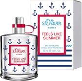 s. Oliver Feels Like Summer Women Eau de Toilette Spray 30 ml