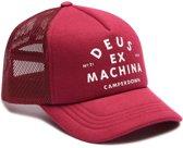 DEUS Austin Camperdown Trucker cap - Sangria Red