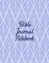 Bible Journal Notebook: Christian Scripture Journal with Guided Prompts