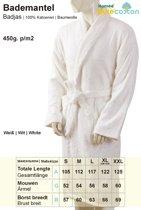 Homéé - Hotel Badjas - shawlkraag badstof 400g. p/m2 Wit (Optisch gebleekt) - One seize - XL