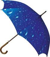 Falconetti Lange Paraplu - Regendruppels