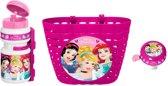 Disney Accessoiresset Princess Roze/wit 3-delig