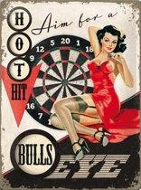 Nostalgic Art Metalen bord Bulls Eye