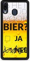 Huawei Y6 2019 Hardcase hoesje Is het al tijd voor bier?