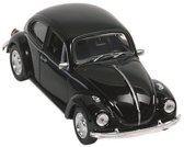 Goki Klassieke volkswagen kever uit 1960 12cm zwart