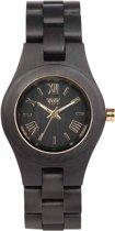 WeWOOD Criss Black/Gold horloge 70210306