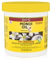 ORS Monoi Oil Anti-Breakage Leave-In Conditioning Creme 473 ml