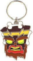 Crash Bandicoot - Uka Uka Metal Keychain