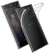 Transparant Backcover TPU Siliconen Softcase Hoesje voor Sony Xperia XA2