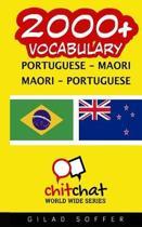 2000+ Portuguese - Maori Maori - Portuguese Vocabulary