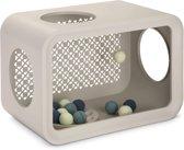 Beeztees Cat Cube Play Kattenspeelgoed - Grijs - 49 x 29 x 32.6 cm