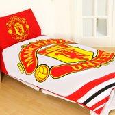 Manchester United Dekbedovertrek - Eenpersoons - 140x200 cm