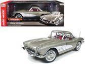 Chevrolet Corvette Hardtop 1961 Grijs 1-18 Ertl Autoworld Limited 1002 Pieces