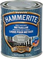 Hammerite hamerslag metaallak donker grijs 750 ml