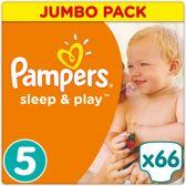 Pampers Sleep & Play - Maat 5 (Junior) 11-23 kg - 66 Stuks - Luiers
