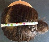 Bware! Haarband Sterretjes Wit