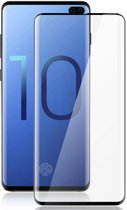 2 Pack Samsung Galaxy S10 Plus Screenprotector Glazen Gehard  Full Cover Volledig Beeld Tempered Glass