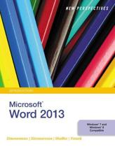 New Perspectives on Microsoft (R) Word 2013, Introductory