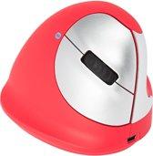 R-Go Tools R-Go HE Sport, Ergonomische muis, Medium (165-195mm), Rechtshandig, Bluetooth, Rood