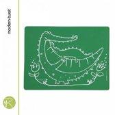 Baby Placemat - Modern Twist - meal-mat crocodile cuddles