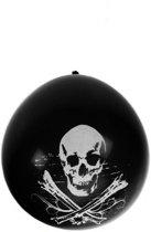 Ballonnen doodshoofd piraat