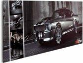 Reinders Schilderij Easton - mustang gt500 - Deco Panel - 90 x 30 cm - no. 22035