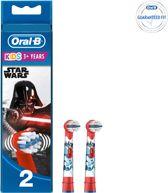 Oral-B Stages Power Kids Star Wars - 2 stuks - Opzetborstels