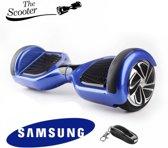 The Scootershop - 700 Watt Hoverboard met afstandsbediening - taotao - 20cell Samsung - Blauw