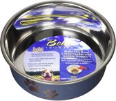 Loving Pets Bella Bowl, Small, 350ml, Metallic Blueberry