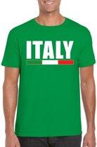 Groen Italy/ Italie supporter shirt heren XL
