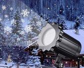 LED Laserprojector Sneeuwvlok - Voor binnen en bui
