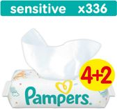 Pampers Sensitive - Billendoekjes Navulpak 6x56 st.