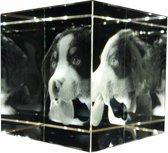 fotokristal kubus 80 x 80 x 80mm 3D