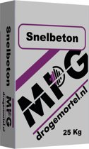 MPG Snelbeton Halve Pallet (18 stuks)