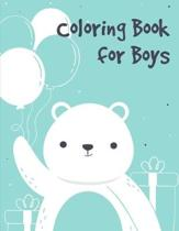 Coloring Book for Boys: Coloring Pages Christmas Book, Creative Art Activities for Children, kids and Adults